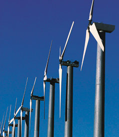 basalt fabrics for Wind power generator's blades manufacturing